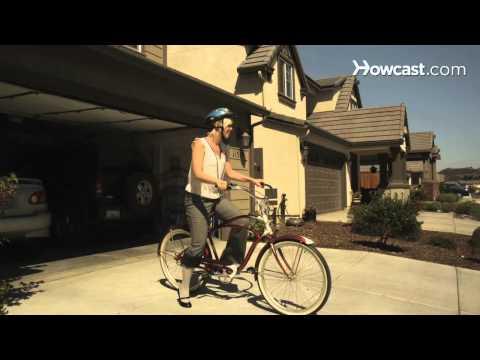 How to Bike in High Heels
