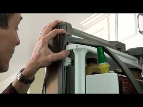 Replace a Door Gasket: Kenmore Elite and LG 3-Door Refrigerators