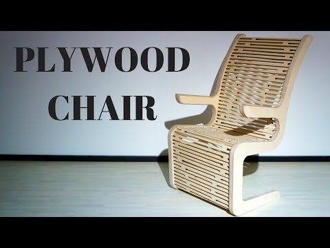Making a plywood chair