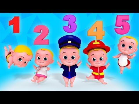 Five Little Babies | Nursery Rhymes Songs For Kids | Children Rhyme