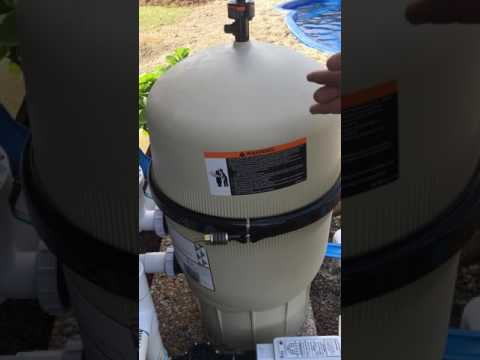 How to a Full Backwash/Clean a Pentair FNS D.E Filter