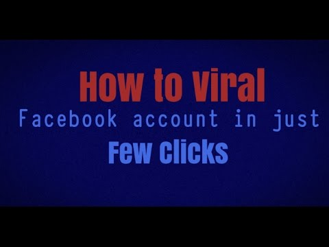 How to Viral Your Facebook Account 2017 Working Trick | Get 5k Friends Requests In Just 1 Hour