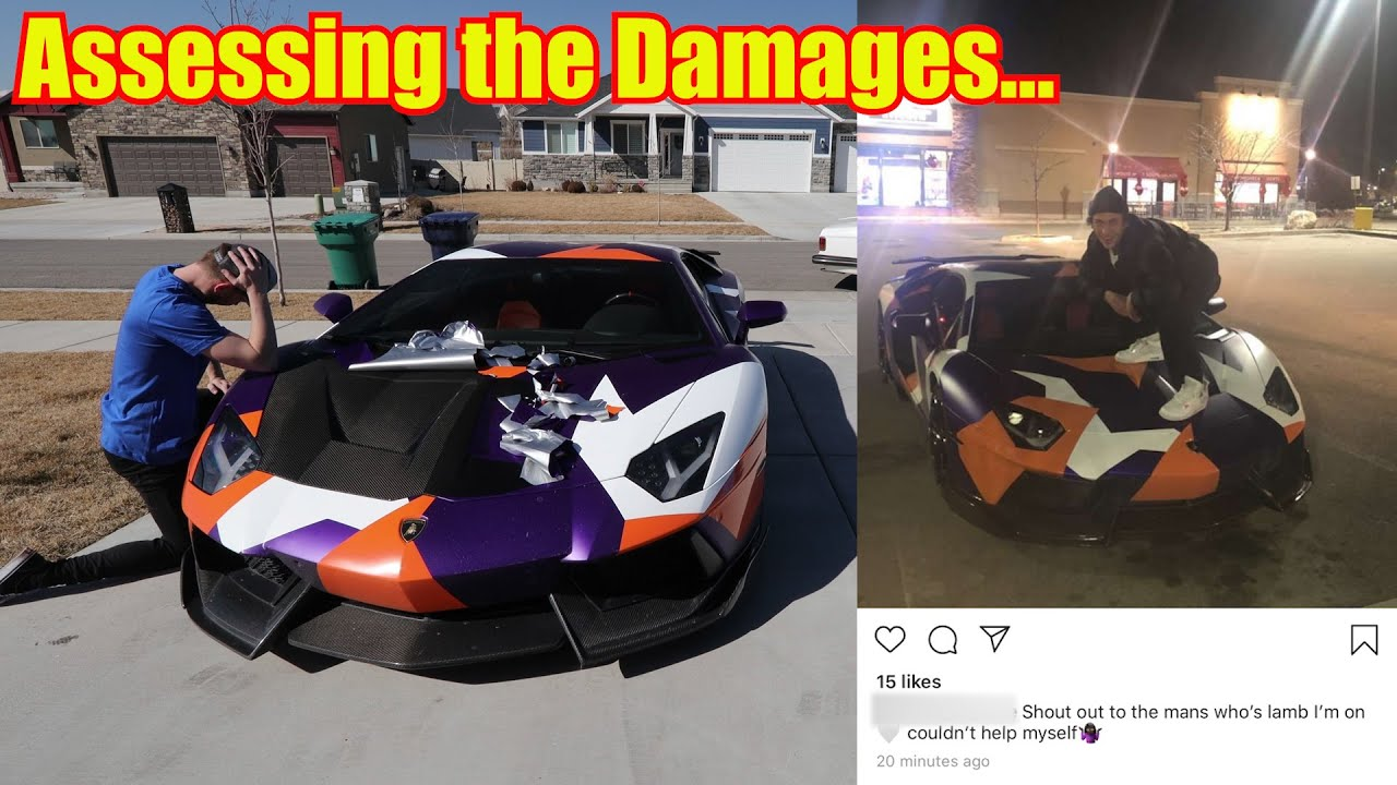 My Message to the Kid who Vandalized my Lamborghini Aventador