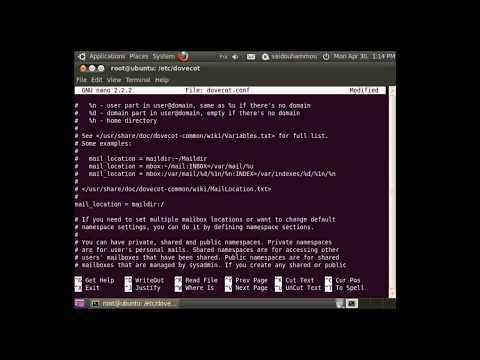 How to Configure Mail Server on ubuntu