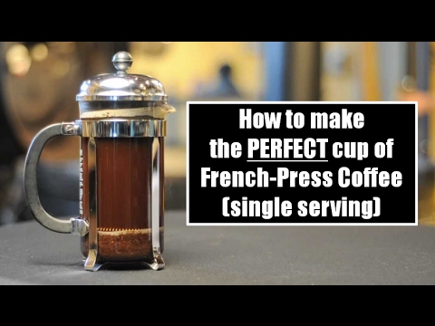 How to Make the PERFECT Cup of French Press Coffee (single serving)