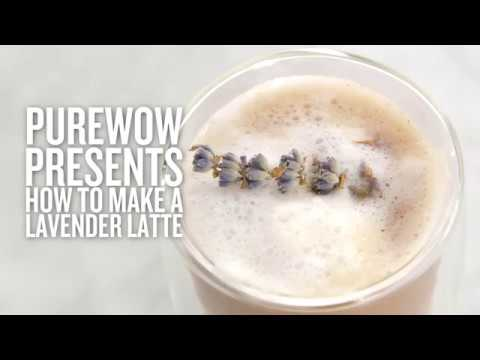 How to Make a Lavender Latte