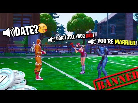 I Stole a Fortnite Kid's Mom as my New Girlfriend... She's a Cheater?
