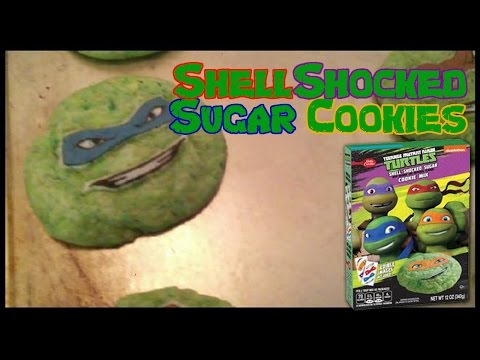 Outrageous Food Friday | Ninja Turtle Shell Shocked Sugar Cookies!
