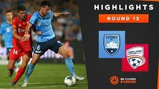 Highlights: Sydney FC v Adelaide United – Round 13 Hyundai A-League 2019/20 Season