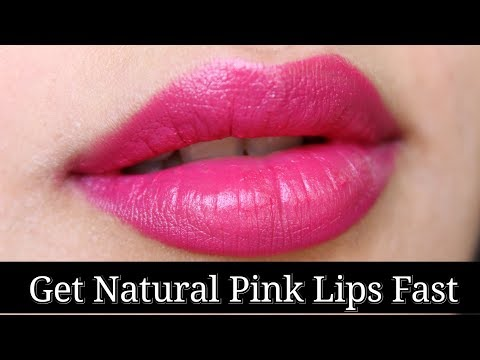How to get Pink Lips Fast + Remove Darkness of your Lips