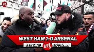 West Ham 1-0 Arsenal | Kroenke Spends More Money On A Wig Than The Club! It's Time To Boycott!(DT)