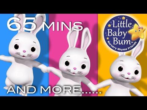 Sleeping Bunnies | Plus Lots More Nursery Rhymes | 65 Minutes Compilation from LittleBabyBum!