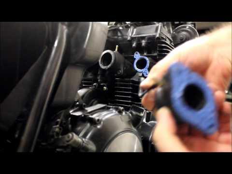 Intake Manifold / Boot Fix Repair, Heat Shrink. Does it work? (XJ650)