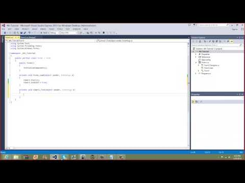 C# Tutorial #4 - How To Make A Flashing Label