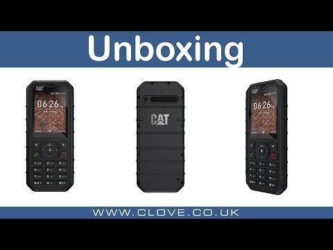 CAT B35 Unboxing