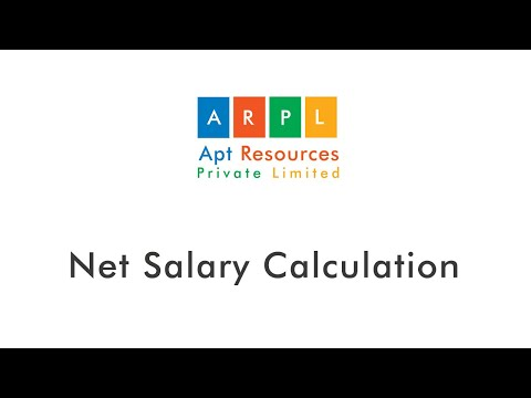 How to calculate Net Salary