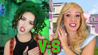 Zombies vs Cheerleaders Rap Battle Inspired by Disney Zombies Movie. Totally TV