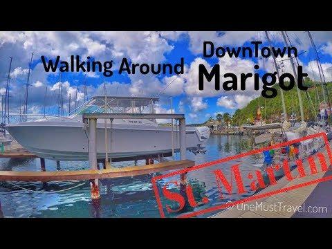 Exploring Downtown Marigot St. Martin and Smoking a Cuban Cigar