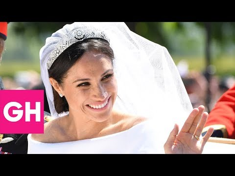 Things You Missed About Meghan Markle's Wedding Dresses | GH