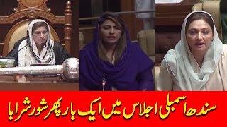 Sindh Assembly mein ek bar phir Badnazmi ho gayi