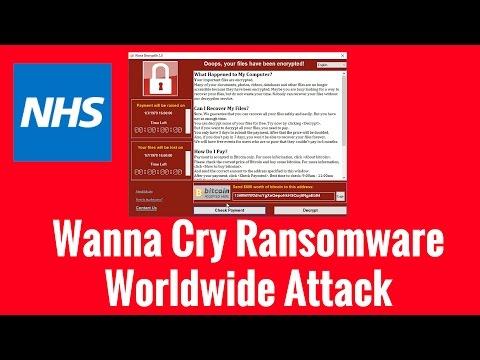 Wanna Cry Ransomware Worldwide Attack