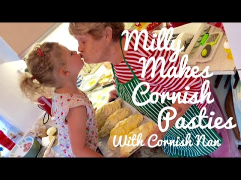 HOW TO MAKE CORNISH PASTIES - WITH CORNISH NAN & MILLY