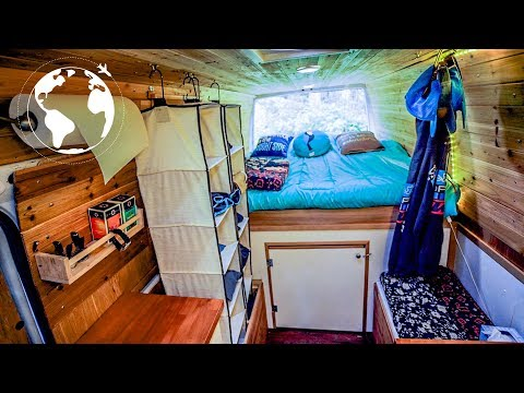 21-YEAR OLD trades Apartment in Seattle for LIFE ON ROAD in SPRINTER VAN