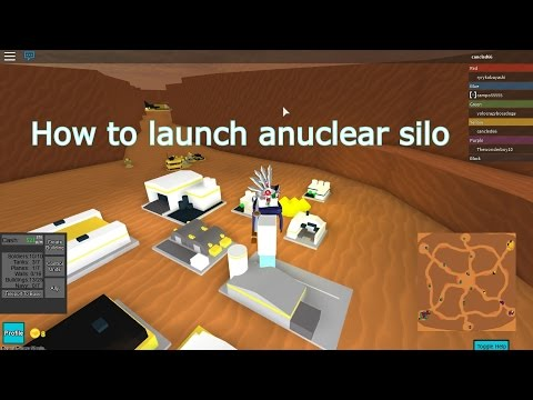 Roblox: how to launch a nuke - The Conquerors 3 [ NEW LOBBY ] -