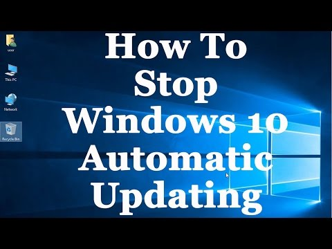 how Stop Windows 10 Upgrade Assistant Tool To Download Windows Files(windows updates) by Techelper