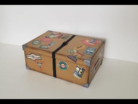 Steamer Trunk Storage for PassBooks/Photos, Part 1