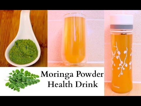 Moringa Detox Health Drink Recipe
