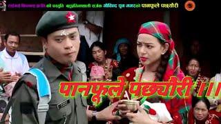 देबि घर्तिले गाय मिठो मौलिक गित (पानफूले पछ्यौरी) By Gobinda Pun Magar & Devi Gharti