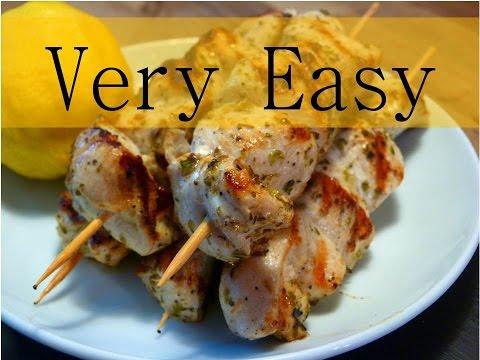 Chicken Souvlaki (Very Easy)