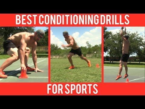 BEST Conditioning Drills for Sports like Football, Basketball, Baseball & Soccer