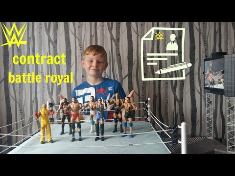 wwe toys battle royal contract match