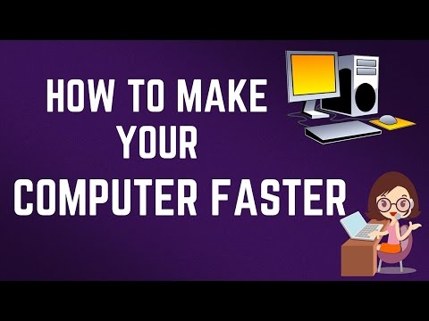 How To Make Your Computer Faster! Speed Up Your Computer In 5 Simple Steps