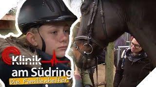 Reiten gegen Traurigkeit: Wieso erzählt Pia (12) ihre Sorgen dem Pferd?   Die Familienhelfer   SAT.1