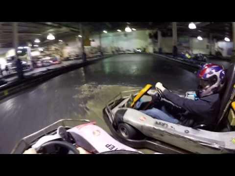 INDOOR GO-KART RACING ( 401 MINI-INDY TORONTO)