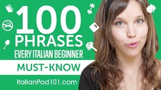 100 Phrases Every Italian Beginner Must-Know