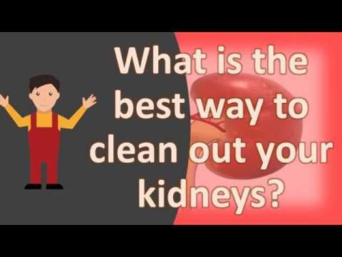 What is the best way to clean out your kidneys ?