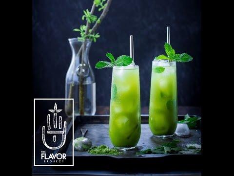 Iced Matcha Green Tea -- www.TheFlavorProj.com