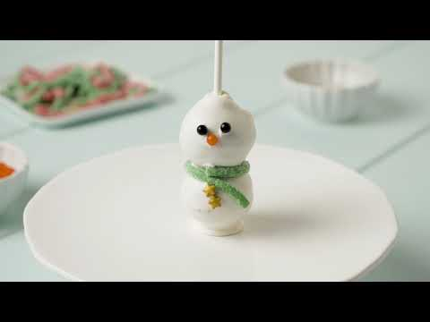 Save-On-Foods - Fresh Solutions How To - Snowman Cake Pops