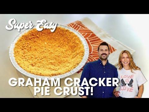 Super Easy Graham Cracker Pie Crust
