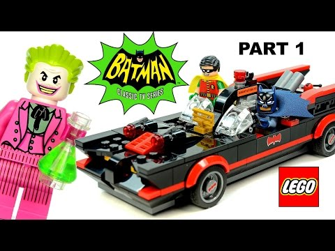 LEGO® Batman™ Classic TV Series Part 1 The Batmobile 76052 DC Comics™ Super Heroes Speed Build