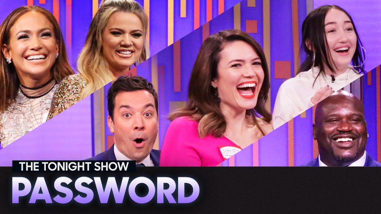Tonight Show Password with Jennifer Lopez, Mandy Moore, Noah Cyrus and More