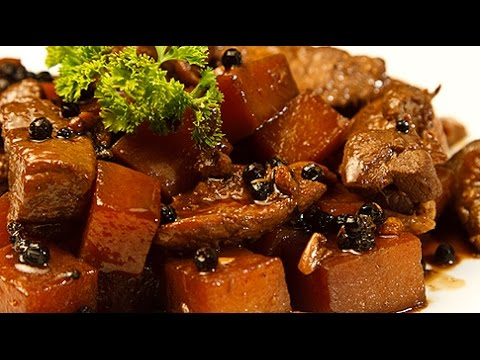 Pork Adobo with Sprite and Tofu - Let's cook!