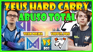 NIGMA VS VIRTUS.PRO BO3[GAME 2] EPIC LEAGUE DIVISION 1:EUROPE/CIS - DOTA 2 PRO