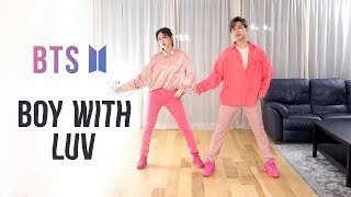 Download BTS - 'Boy With Luv' Dance Cover | Ellen and Brian Video