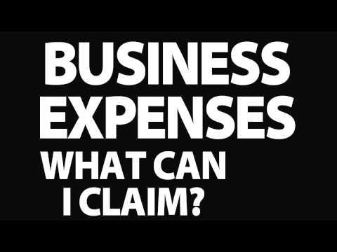 Business expenses : What business expenses can I claim?