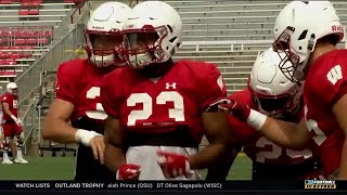 BTN Bus Tour: RB Jonathan Taylor | Wisconsin | Big Ten Football